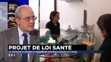 """Tiers-payant : la généralisation du système, """"c'est néfaste"""" affirme Bernard Debré"""