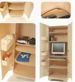 d coration organisez le rangement dans un petit espace tendances d co d co. Black Bedroom Furniture Sets. Home Design Ideas