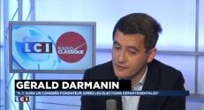 """Darmanin: """"Taubira est un tract pour le Front National"""""""
