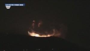 L'aviation israélienne a mené un raid contre Damas dans la nuit de samedi à dimanche 5 mai.