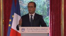 """Le 20 heures du 30 septembre 2014 : Hollande : """"Il n%u2019y pas d%u2019�nomie qui soit indolore"""" - 1094.244"""