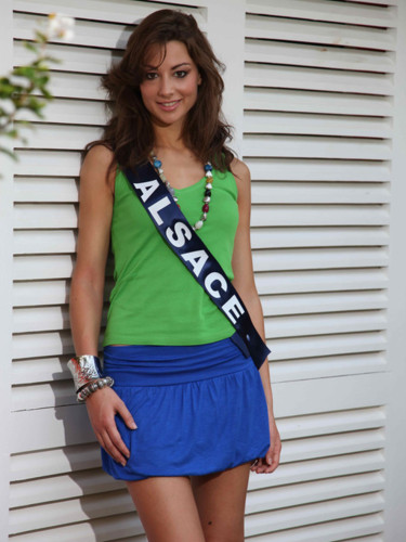Miss Alsace 2009 - sophie Mathes : candidate Miss France 2010