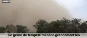 Chine : une impressionnante tempête de sable s'abat sur la ville d'Aral