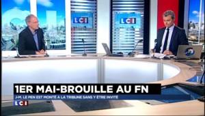 """Défilé du 1er mai : """"Marine Le Pen n'a pas maîtrisé sa scène"""""""