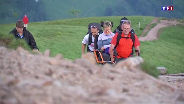 En marche pour une randonnée à thèmes dans les Vosges