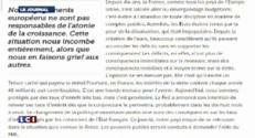 Valéry Giscard d'Estaing : le risque de connaître en France la même situation qu'en Grèce