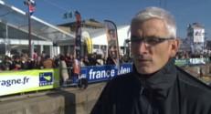 Vincent Riou, juste avant le départ de la Route du Rhum 2014