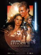 Affiche du film Star Wars Episode 2 - L'attaque des clones