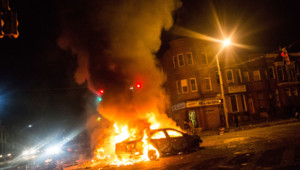 Emeutes à Baltimore le 27 avril 2015.
