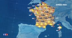 La météo du lundi 8 février : seize départements en vigilance orange après des vents violents