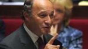 Laurent Fabius, ministre de l'Economie