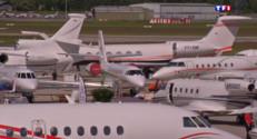 Le 20 heures du 24 mai 2015 : L'aviation d'affaire ne connait pas la crise - 1107