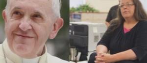 Le pape François a rencontré Kim Davis, lors de son voyage aux Etats-Unis.