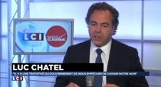 """Luc Chatel : """"On veut tenter de déstabiliser Nicolas Sarkozy"""""""