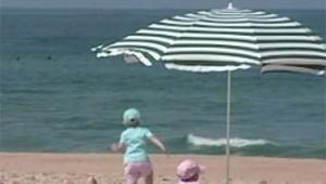 plage vacances été baignade mer bebés