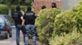 Police à St-Etienne du Rouvray après l'attaque contre l'église, 26/7/16