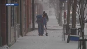 USA meteo neige états-unis