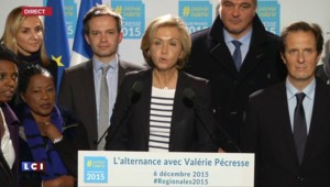 """Valérie Pécresse : """"Notre première étape est réussie"""""""