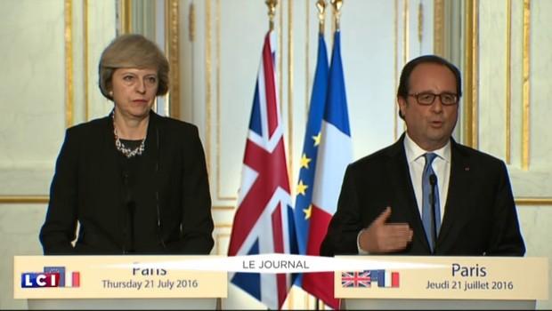 Brexit : François Hollande disposé à laisser du temps à Theresa May