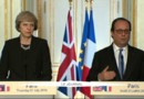 Brexit : François Hollande disposé à laisser du temps à Theresa May