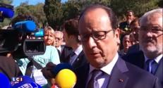 Hollande promet le soutien du gouvernement aux agriculteurs