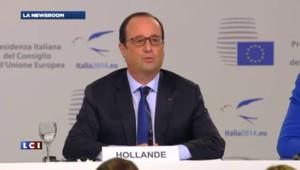 """Modulation des allocations familiales : """"Un principe qui pour l'instant n'a pas été retenu"""" affirme Hollande"""