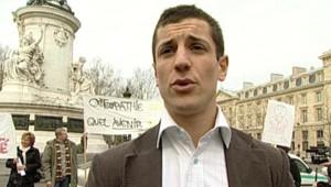 TF1-LCI Thomas Schmit, Pdt Union des Etudiants en Osthéopathie