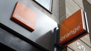 Une boutique Orange à Paris