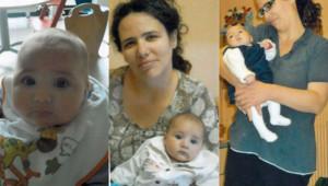 Mia, le bébé enlevé le 18 avril 2014 à nancy, et sa mère