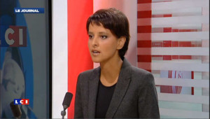 Najat Vallaud-Belkacem, porte-parole du gouvernement