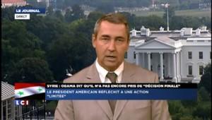 """Syrie : """"La décision d'Obama se lit entre les lignes"""""""