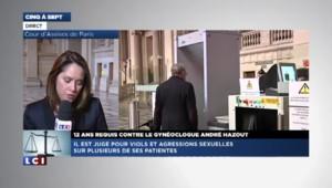 12 ans requis contre le gynécologue André Hazout