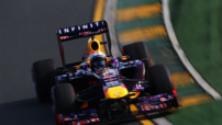 F1 GP Australie 2013 Essais - Vettel Red Bull
