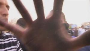 Grève des taxis le 25 juin 2015, des journaliste de LCI prises à partie à Paris