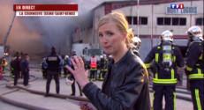 """Le 20 heures du 17 avril 2015 : Incendie géant à la Courneuve : """"le Nord de Paris est paralysé"""" - 207.938"""