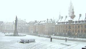 Lille sous la neige - 05/03/2012