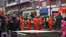 À Paris, un Nouvel An chinois pluvieux et sous haute protection