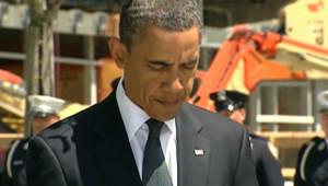 Barack Obama à Ground Zero, le 5 mai 2011