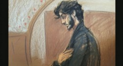 Croquis de l'audience de Tsarnaev du 24 juin 2015.