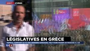 Élections législatives grecques : les deux partis au coude à coude