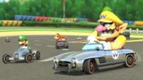 Les Mercedes-Benz du contenu additionnel Mario Kart 8 sur console Wii U disponible le 27 août 2014
