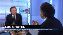 """Luc Chatel : """"Notre économie est asphyxiée"""""""