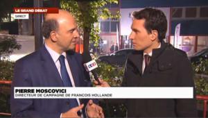 """Pierre Moscovici : """"L'homme d'Etat, c'était François Hollande"""""""