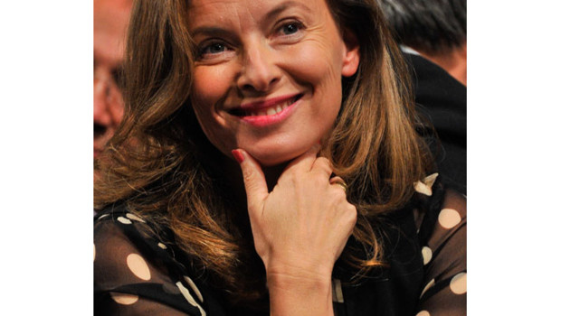 Vernis à ongles Valérie Trierweiler 6 mai 2012 élection présidentielle