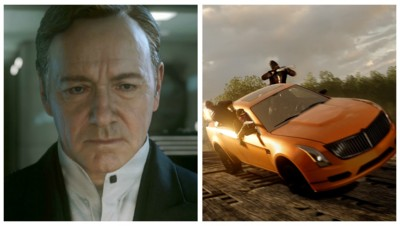 Call of Duty Advanced Warfare (Activision) s'offre Kevin Spacey. Battlefield Hardline (EA) la joue policiers et voleurs