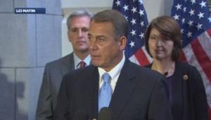 John Boehner, président républicain de la chambre des représentants.
