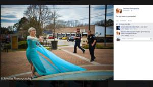 La Reine des Neiges a été arrêtée par la police en Caroline du Sud / Crédits : Sakalas Photography et Glass Sliper Productions