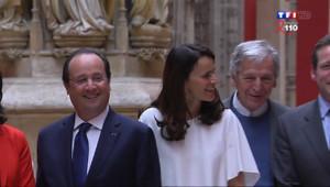 Le 20 heures du 4 avril 2014 : Visite surprise de Hollande dans un forum europ� de la culture - 1823.065
