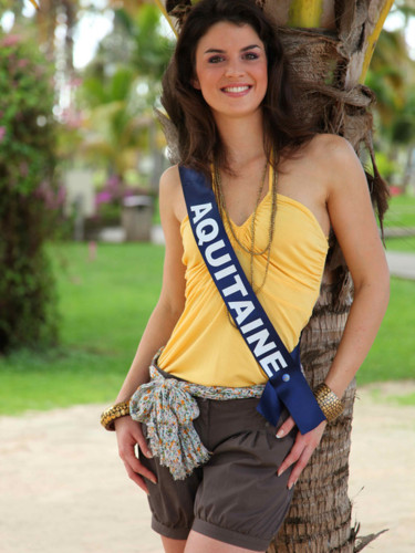 Miss Aquitaine 2009 - Aurélie Zengerlin : candidate Miss France 2010