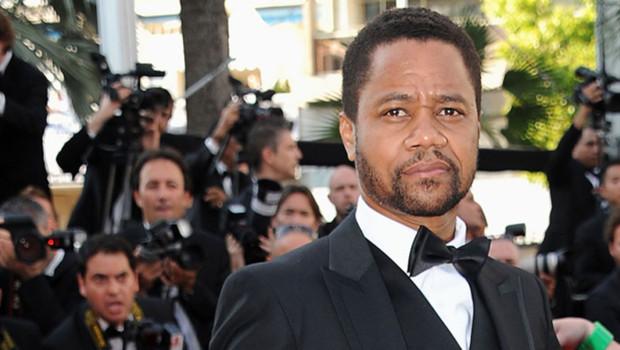 L'acteur américain Cuba Gooding Jr., sur le tapis rouge du festival de Cannes 2012.